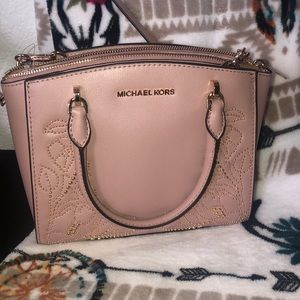 Brand new floral Michael Kors purse and wallet